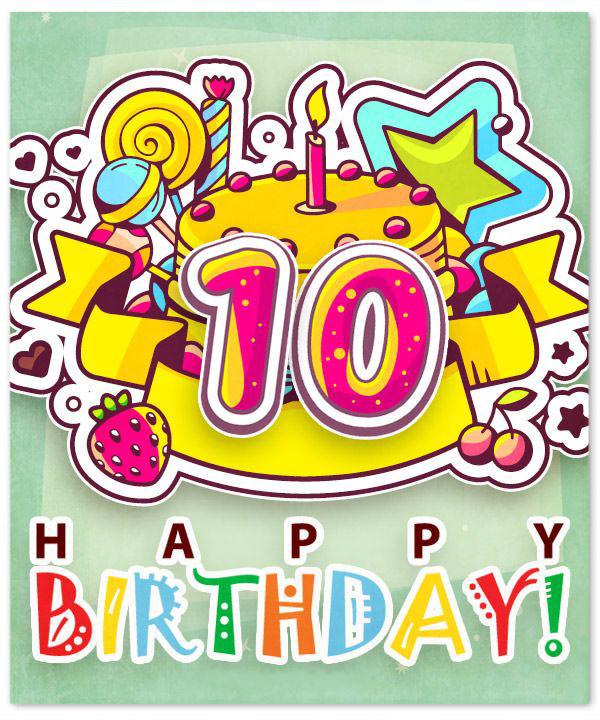 10 happy birthday