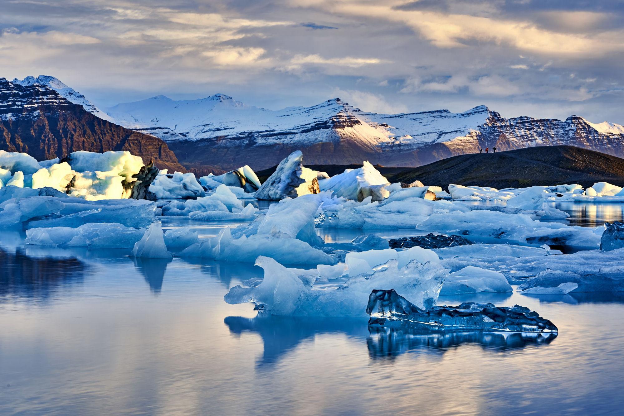 Jokulsarlon lago islandia