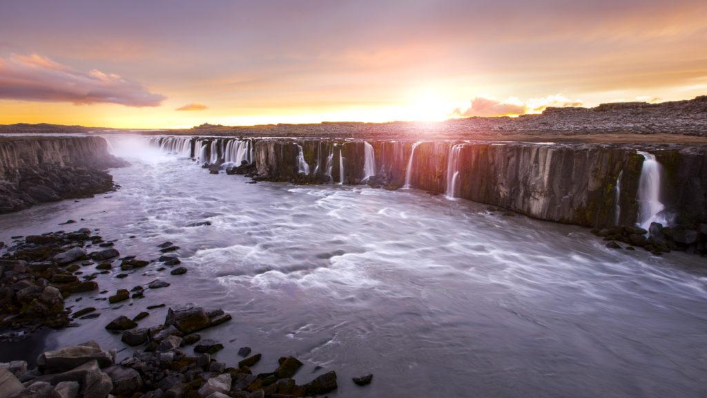 cascada dettifoss islandia