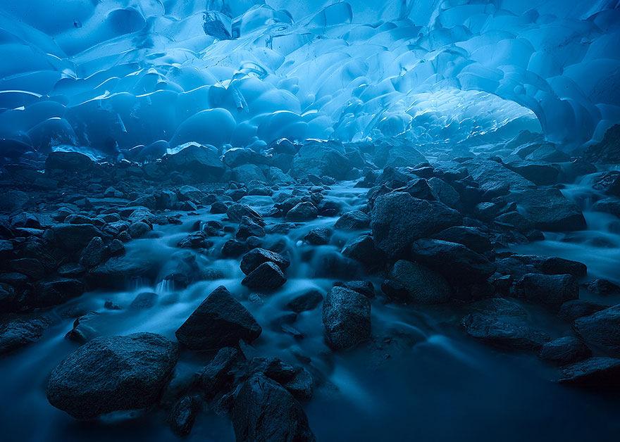 cueva hielo Breiðamerkurjökull Breidamerkurjokull