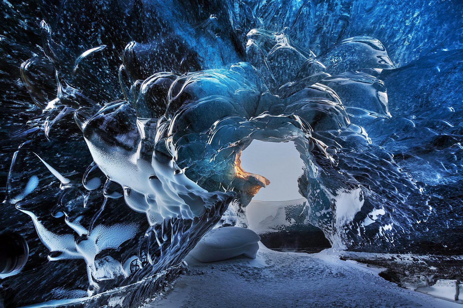 cueva hielo islandia