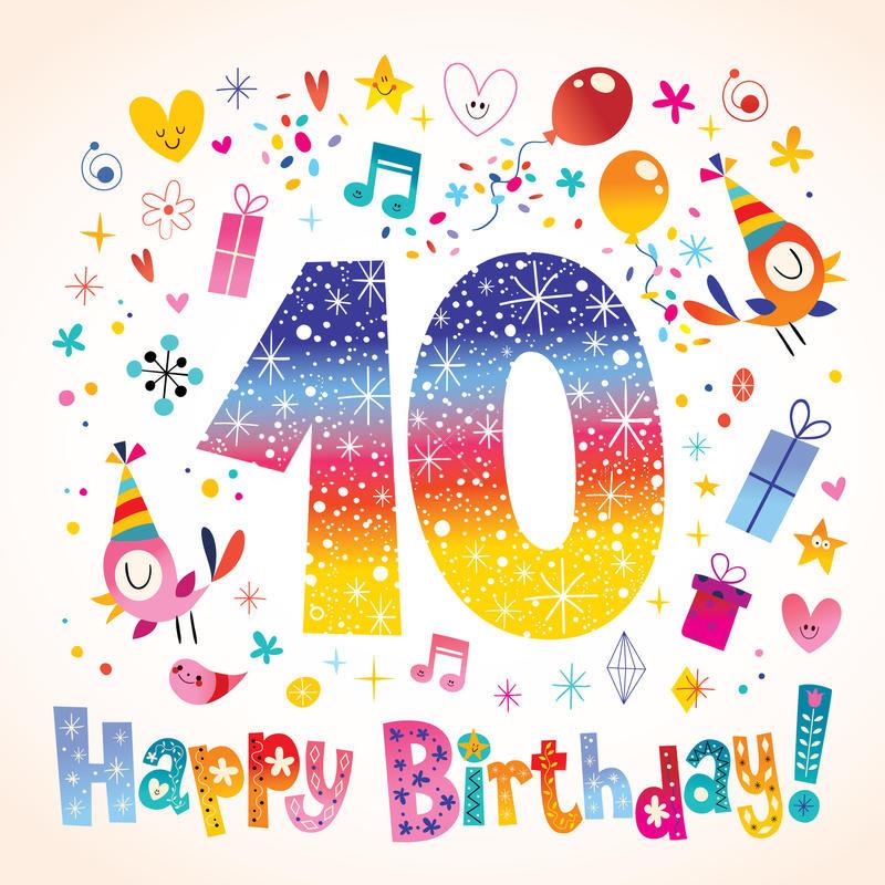 cumpleaños 10