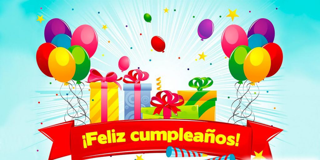 feliz cumpleaños regalos globos