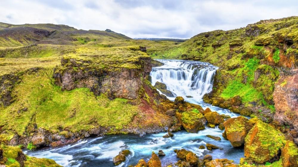 fimmvorduhals islandia