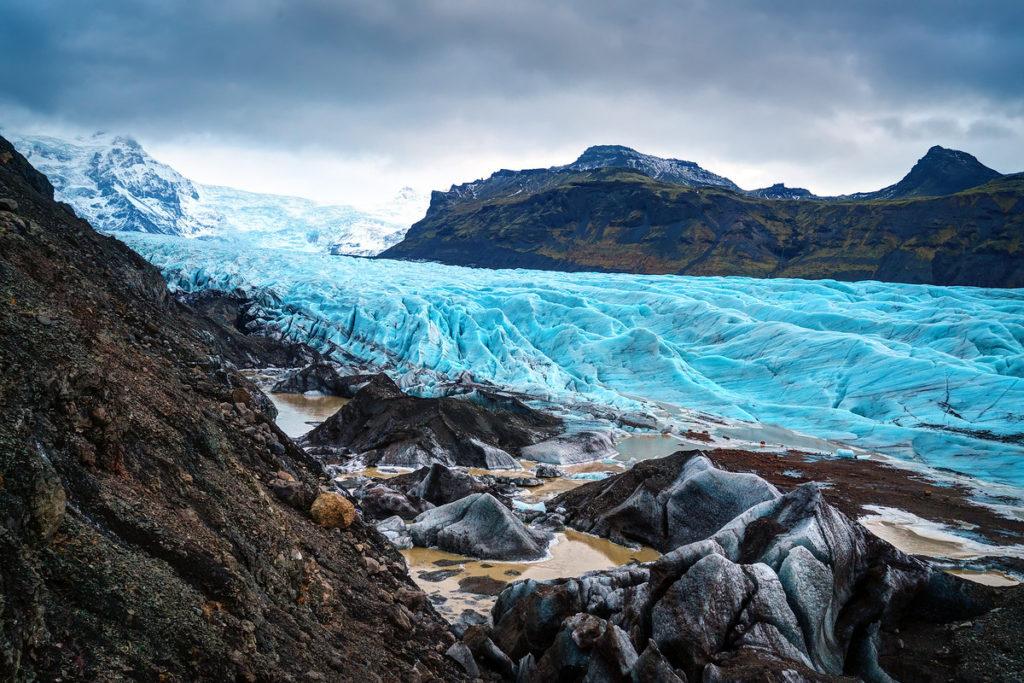 glaciar Svínafellsjökull islandia