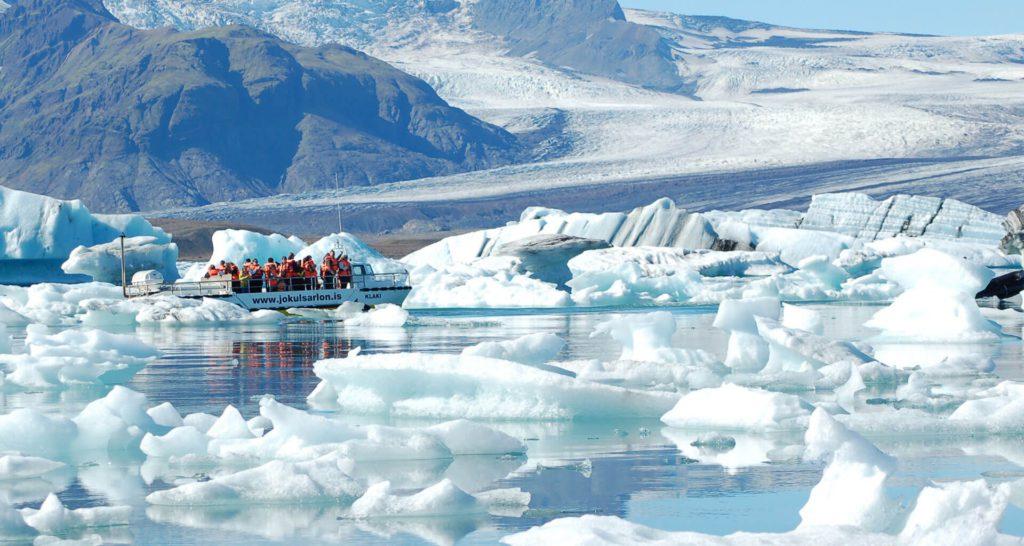 lago jokulsarlon Jökulsárlón islandia