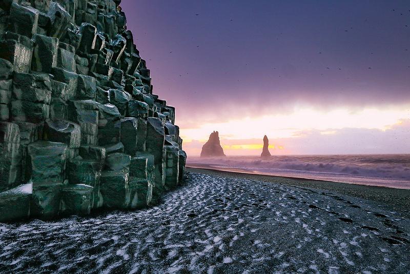 playa arena negra islandia