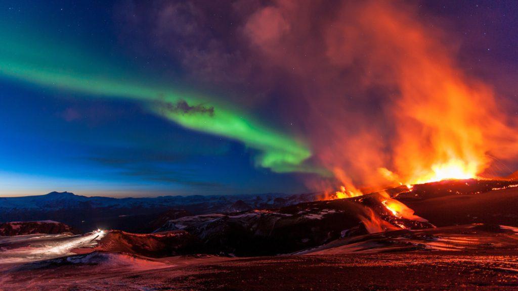 senderismo fimmvorduhals islandia
