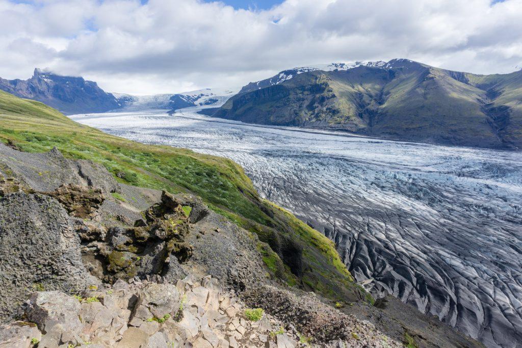 skaftafell glaciar islandia