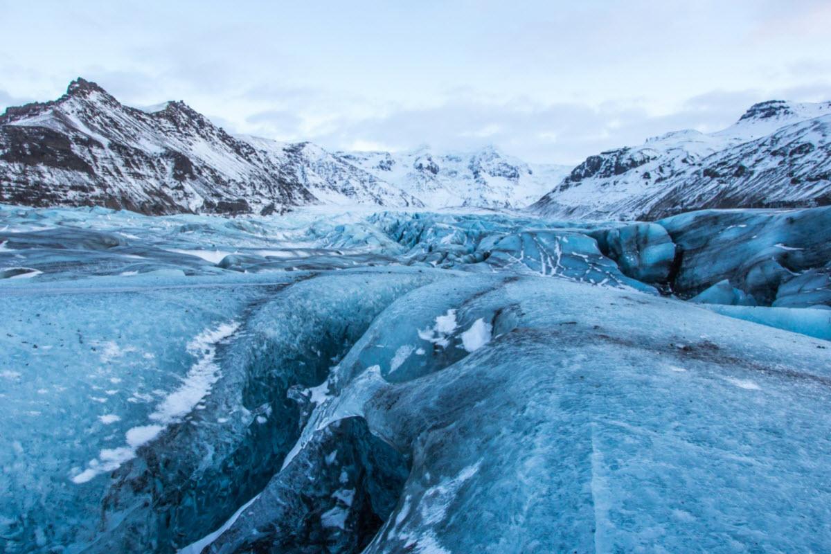 skaftafell glaciar