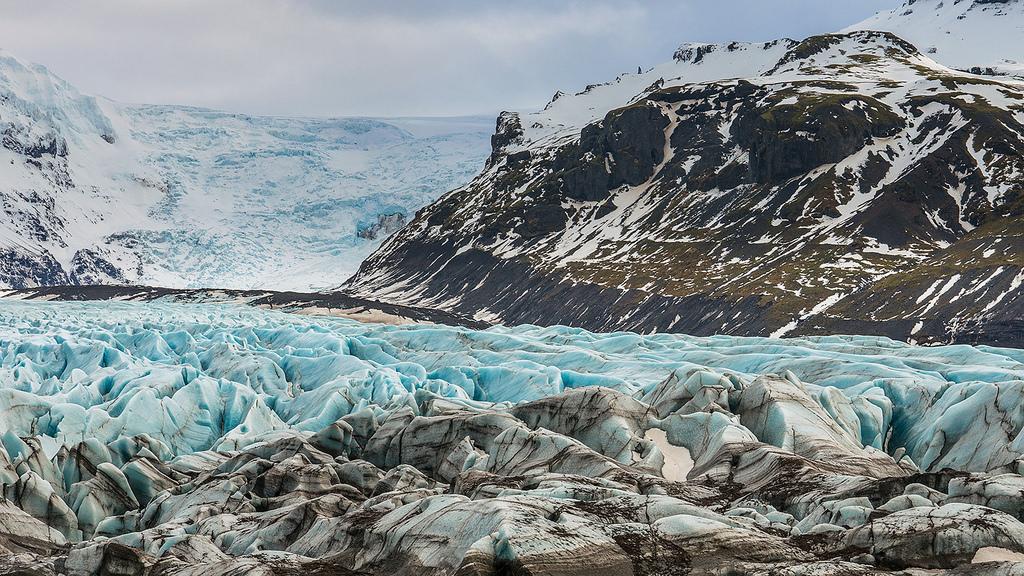 svinafellsjokull islandia