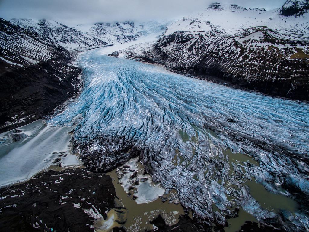 svinafellsjokull lengua glaciar