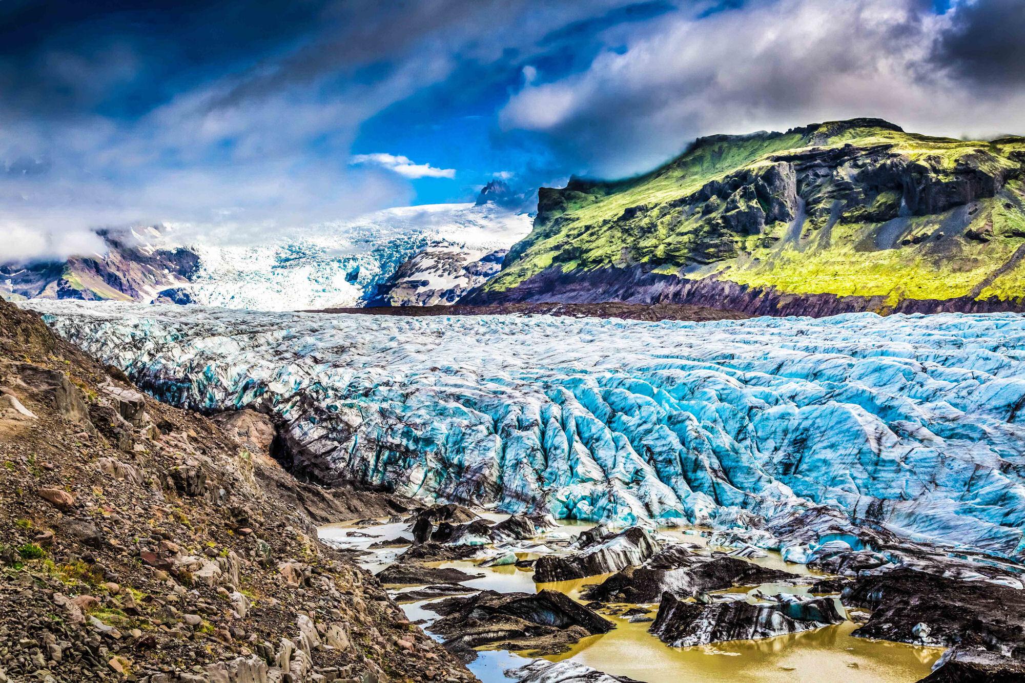 vatnajokull glaciar