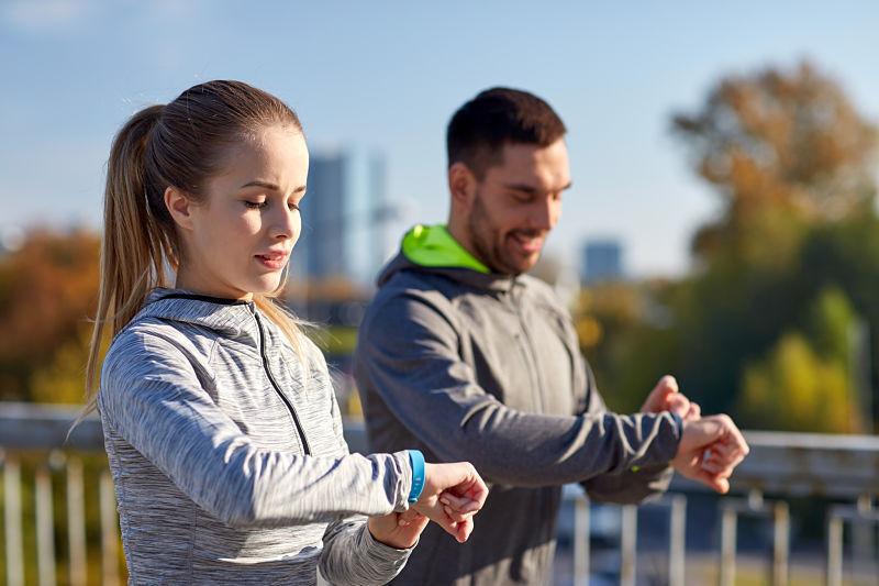 pulseras fitness running