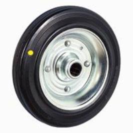 ruedas goma negra