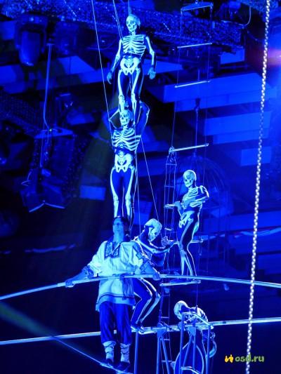 obra circo ruso la mujer del lago muerto