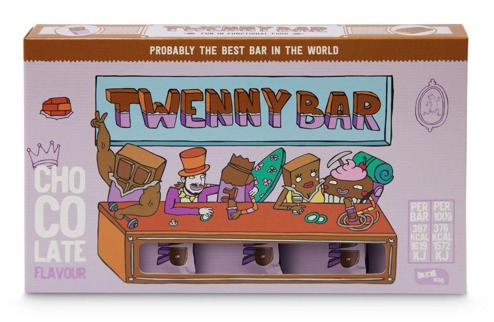 twenny bar chocolate caja