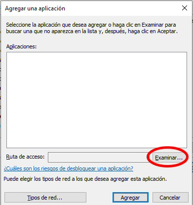 buscar aplicaciones windows