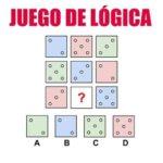 Serie lógica de puntos y colores en los dados