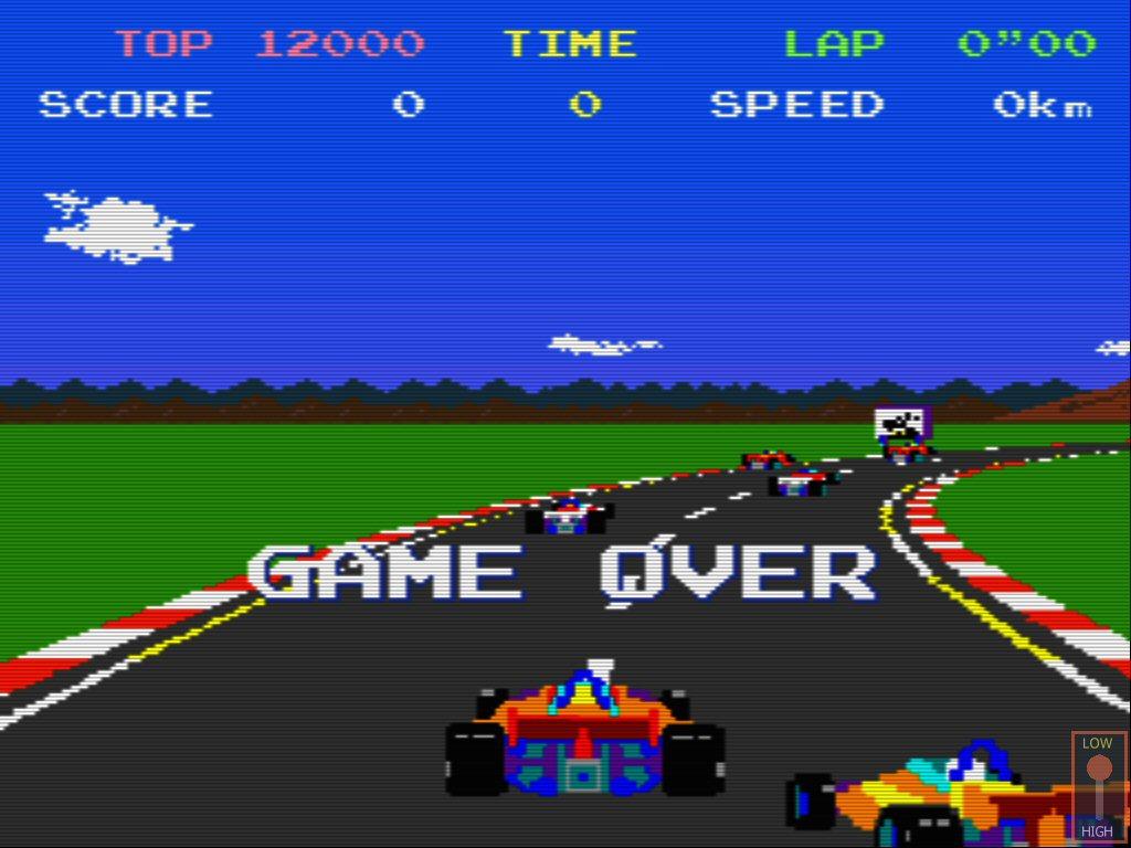 pole position namco arcade