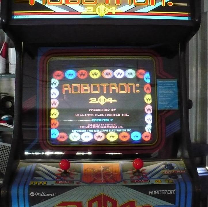 robotron 2084 arcade recreativa