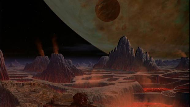 vulcano planeta