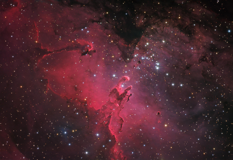 Nebulosa M16 serpiente