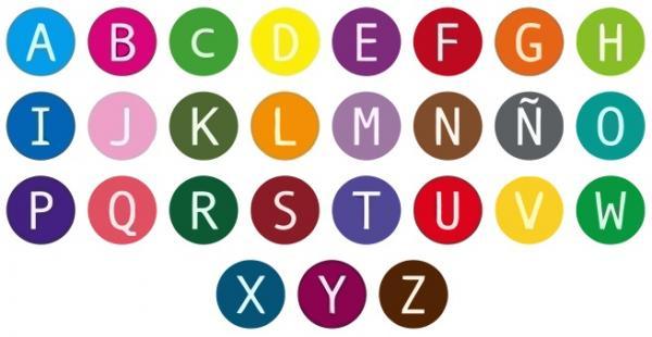 alfabeto letras