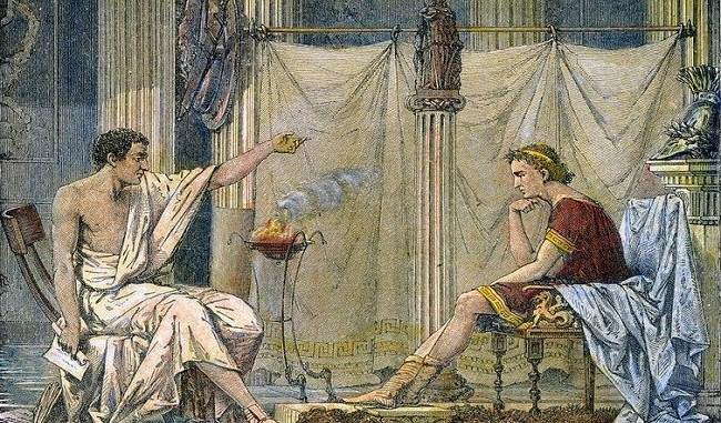 aristoteles alejandro magno
