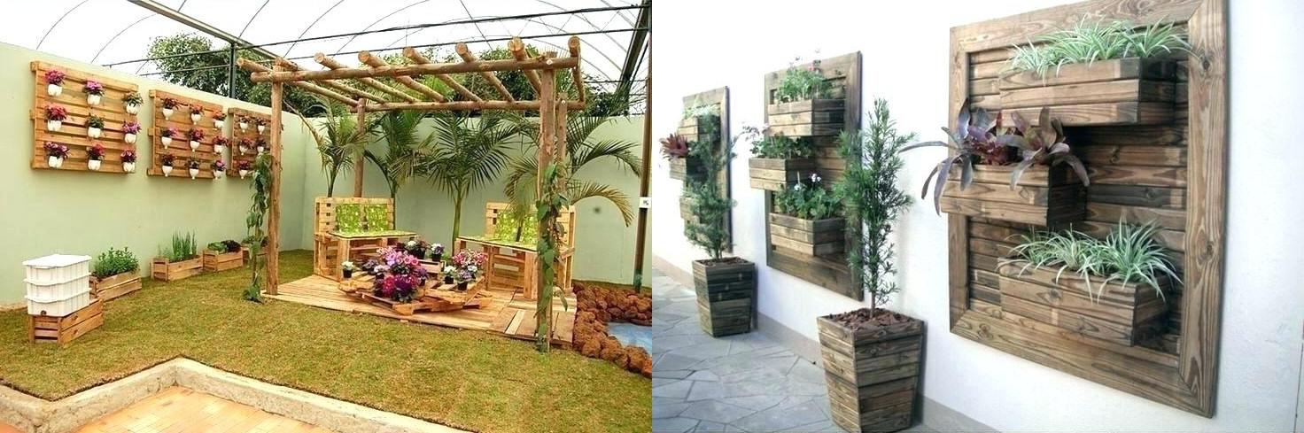 decoracion jardin plantas