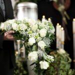 Un último adiós con flores