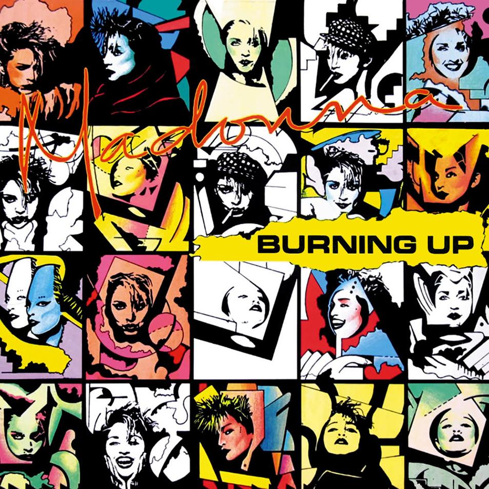 madonna burning up cd
