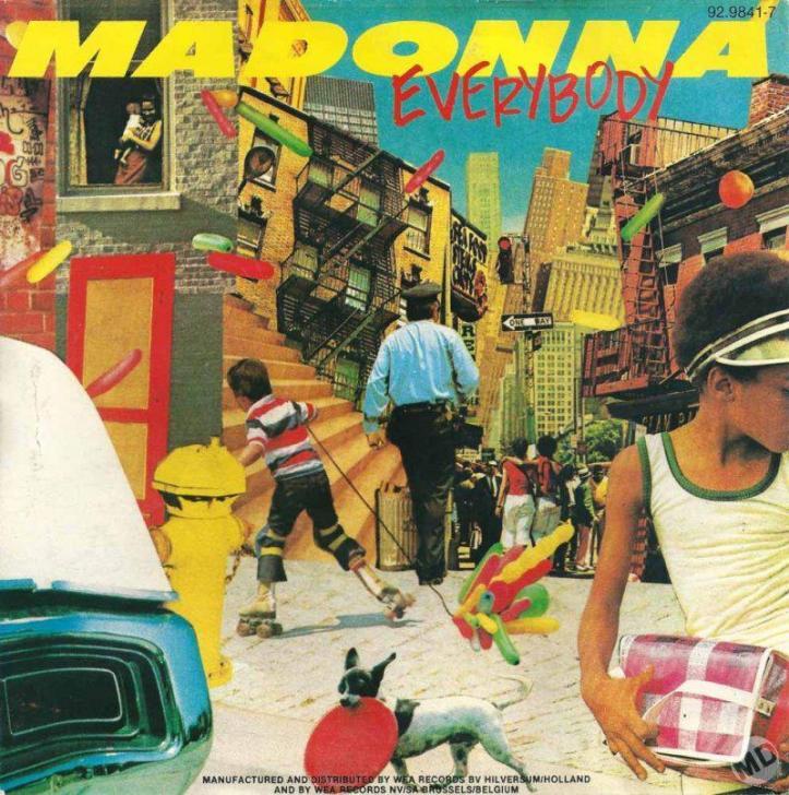 madonna everybody 7 belgica