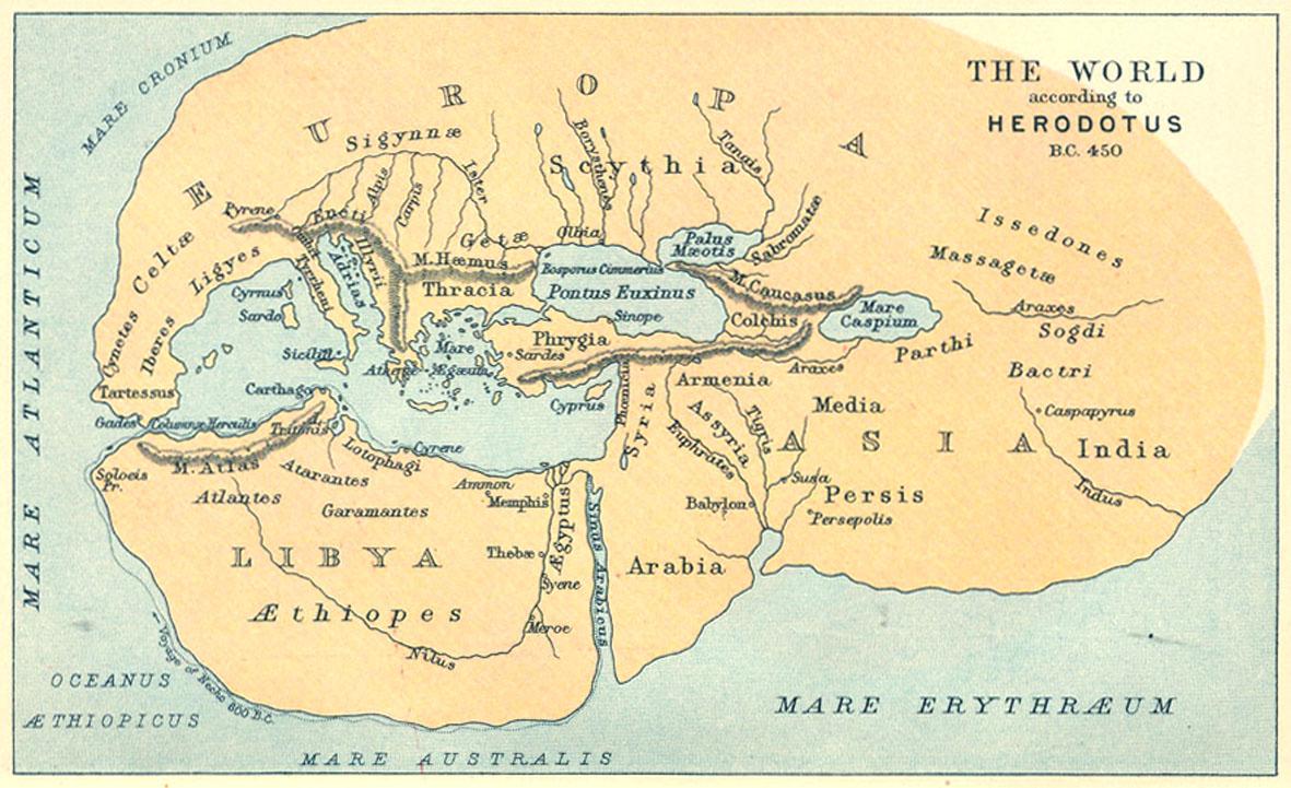 mapa herodoto