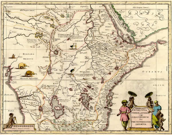 mapa primeros viajes portugueses africa