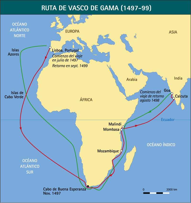 portugueses viajes africa vasco gama