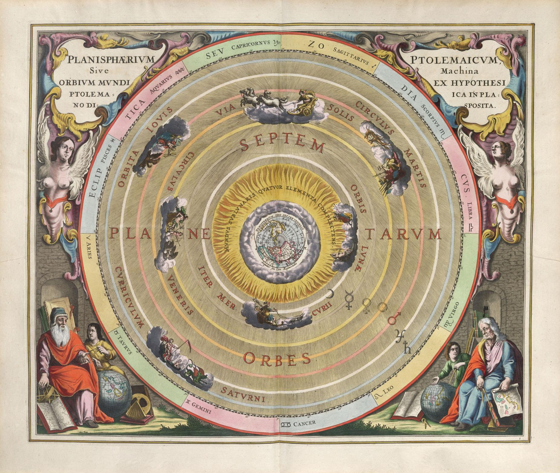 universo esferas ptolomeo