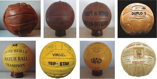 balones mundiales 1930 1934 1938 1950 1954 1958 1962 1966