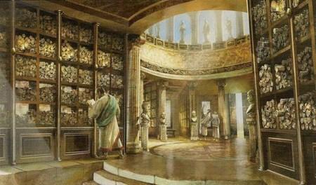 biblioteca alejandria
