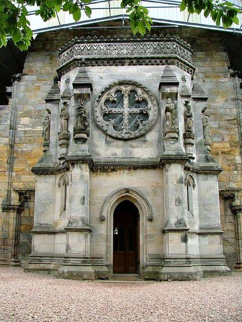 capilla rosslyn entrada