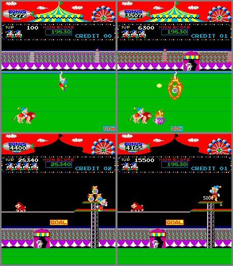 circus charlie arcade