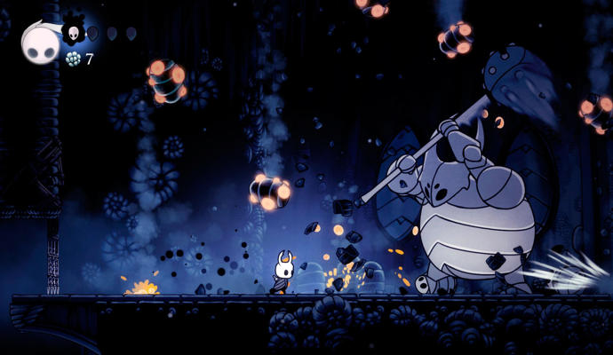 hollow knight combate