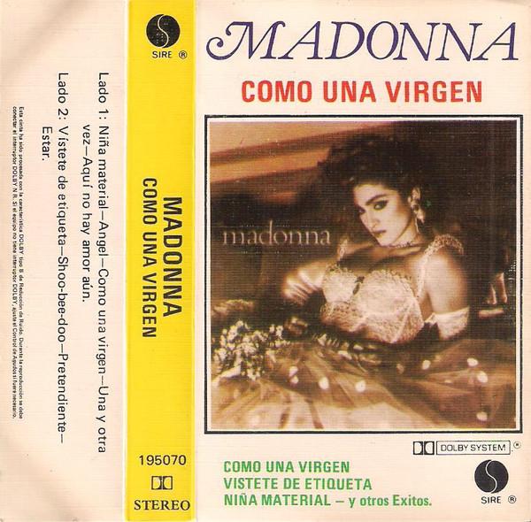 madonna como una virgen