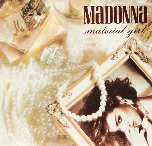 madonna material girl single