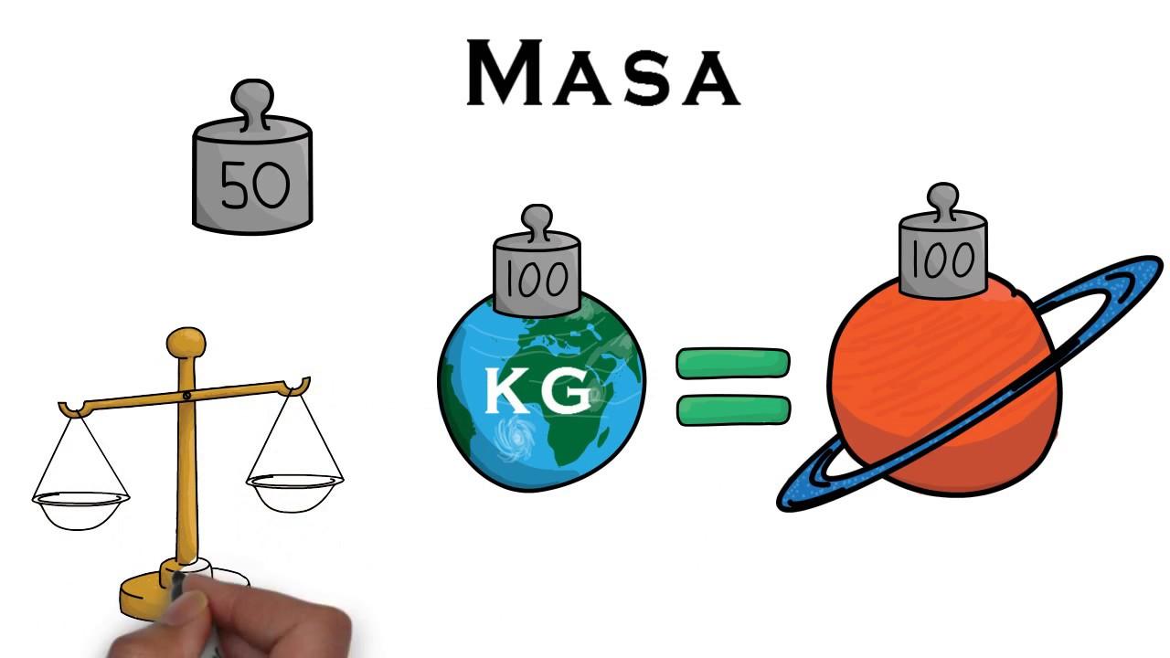 masa ciencia
