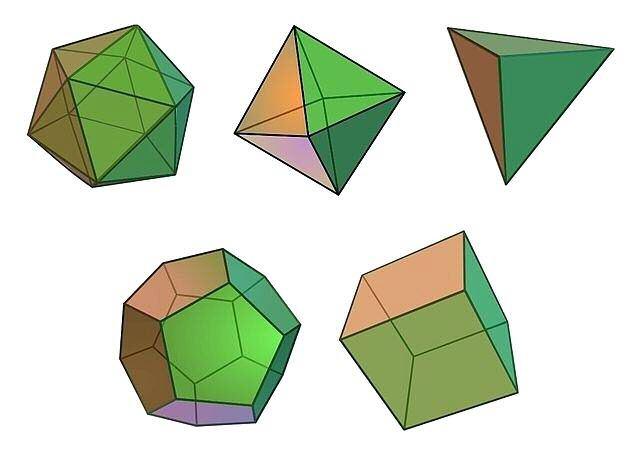 poliedros regulares convexos