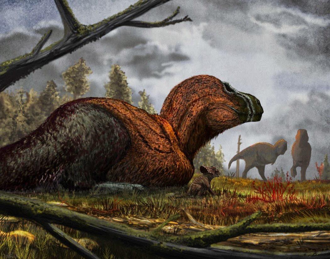 dinosaurio plumaje