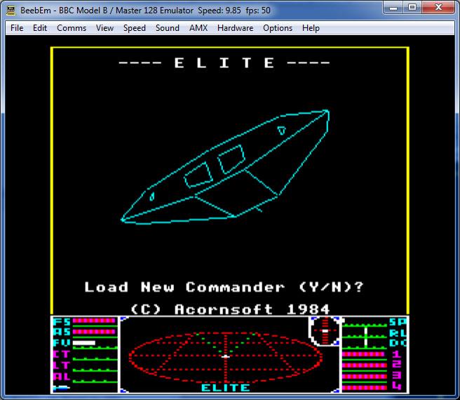 juego naves espacio elite
