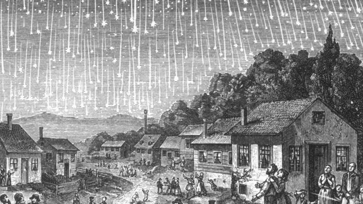 leonidas lluvia meteoritos