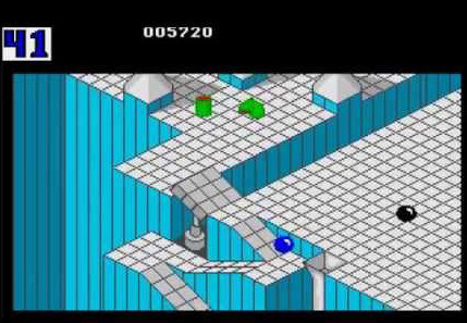 marble madness 1984